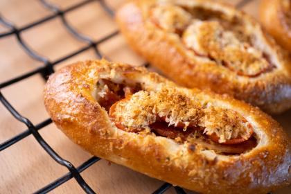 プチトマト&ベーコン ハーブパン粉