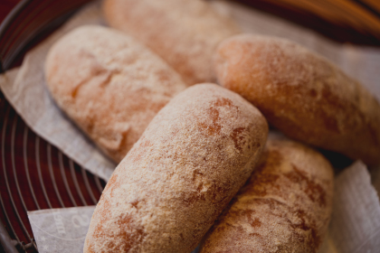 懐かしの揚げパン きな粉