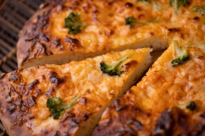 贅沢ピザ 海老のチリソース